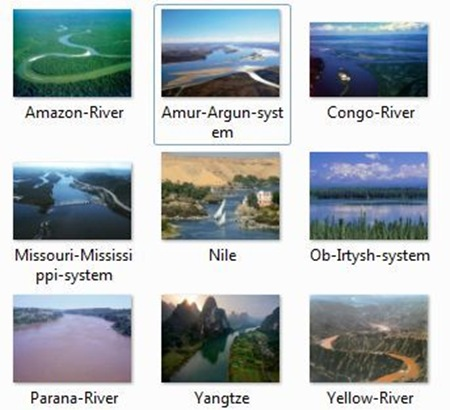 Longest Rivers in the World