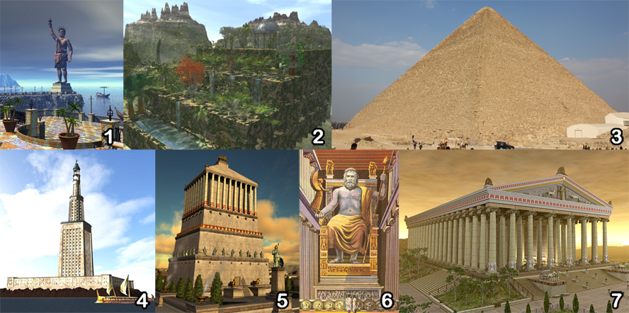 Seven Wonders Of The Ancient World Know It All