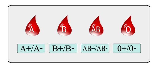 blood group types list pdf