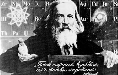 Dmitri Mendeleev - Periodic Table of Elements
