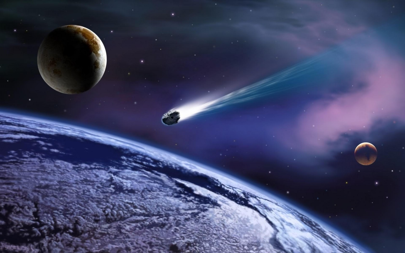 asteroid in space - photo #30