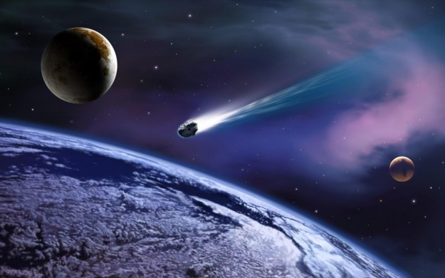 Meteor Hit Earth