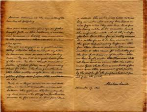 Original Gettysburg Address