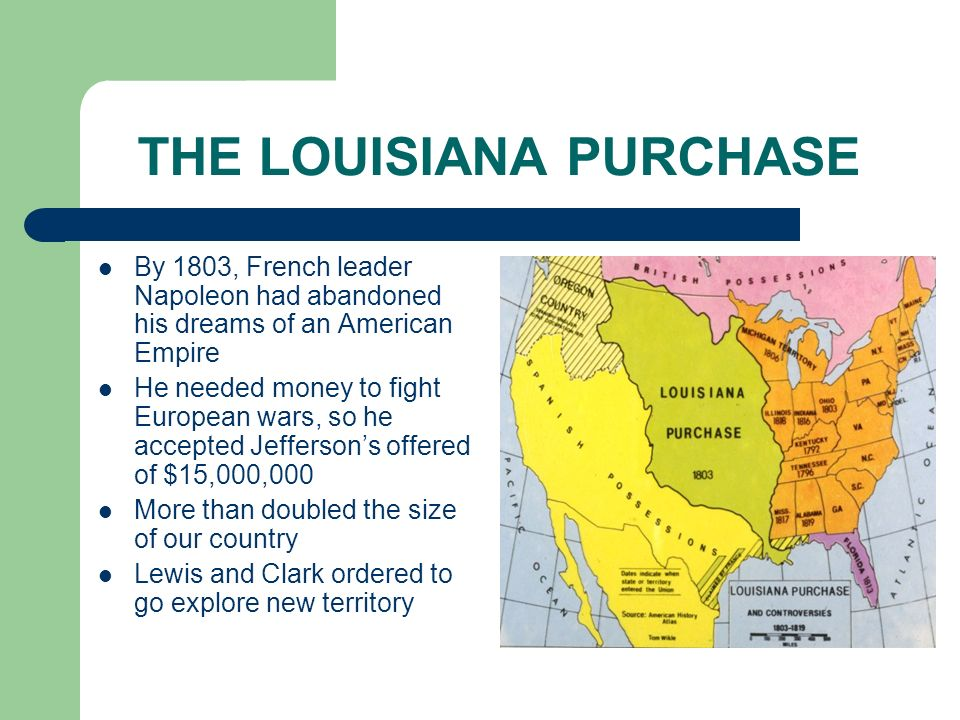 Louisiana purchase essays