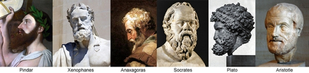 6 Greek Philosophers
