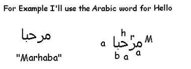 ArabicExample