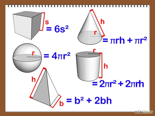 Calculate Area of Shapes