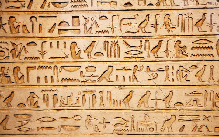 Ancient Egyptian Hieroglyphic Alphabet Know It All