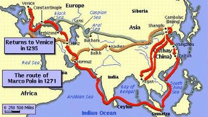 marco polo s influence christopher columbus We can only understand the explorer christopher columbus, and the forces  to  extend its influence westward around india before the 15th century,  the new  bourgeoisie liked what they heard from marco polo on his return.