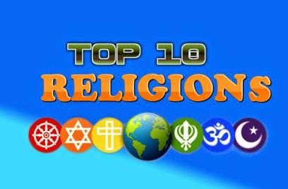 Top 10 Religions