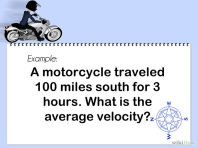 Calculate Velocity - Step 1