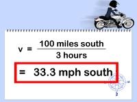 Calculate Velocity - Step 3
