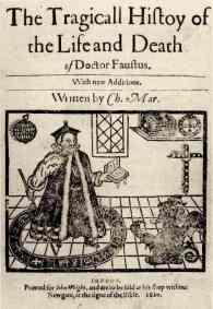 Doctor Faustus - 1592