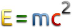 E = mc2 - Formula