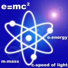 Einstein Atom E=mc2
