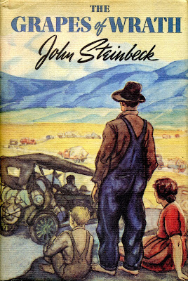 """the meaning of the title the grapes of wrath by john steinbeck """"and the little screaming fact that sounds through all history: repression works only to strengthen and knit the repressed"""" ― john steinbeck, the grapes of wrath."""