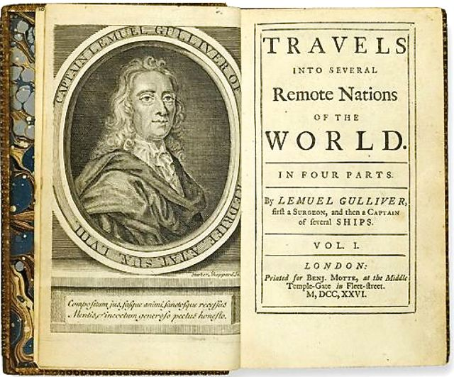 voltaire s candide and jonathan swift s gulliver s travels Swift, satire and argumentation review study play what is satire what was swift's expectation for gulliver's travels he thought there would be rioting in the street and it would.