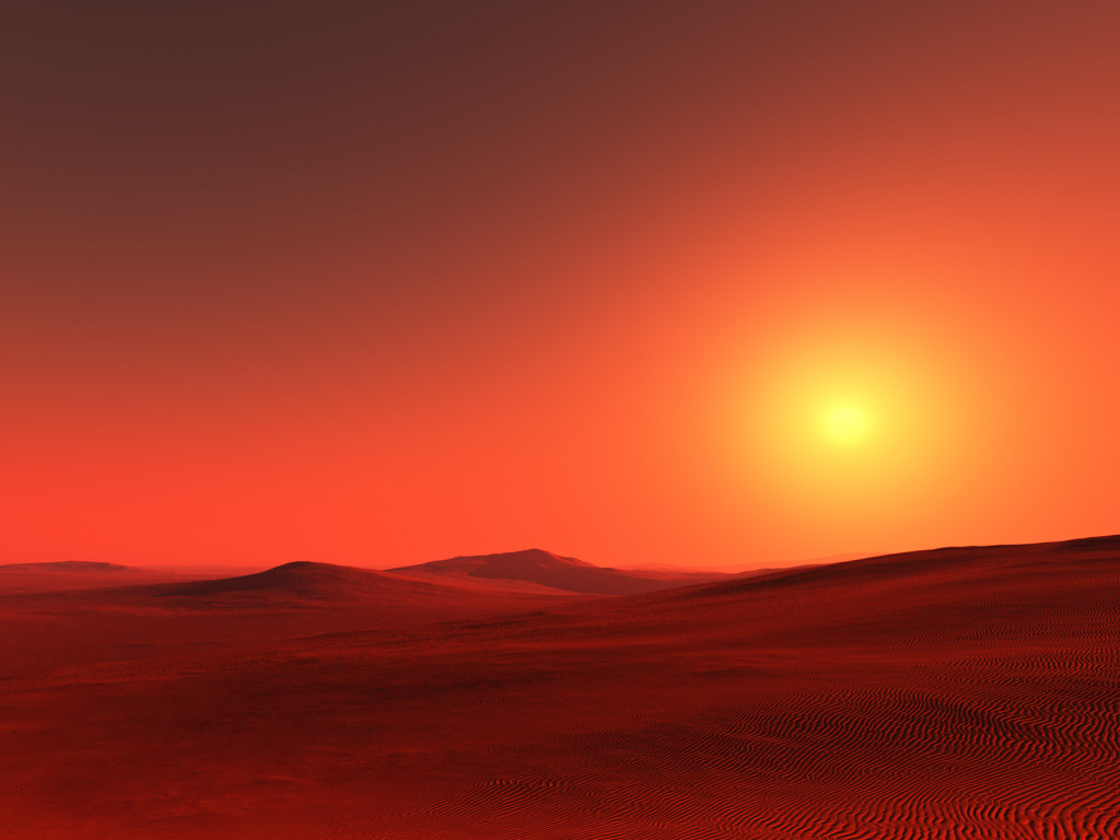 red planet mars surface - photo #11