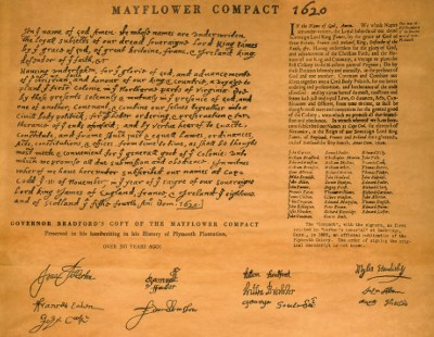Mayflower Compact 1620