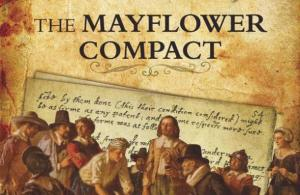 Mayflower Compact Sign