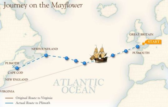Mayflower - Journey on the Mayflower