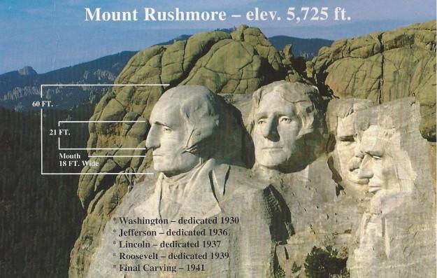Mount Rushmore Aerial