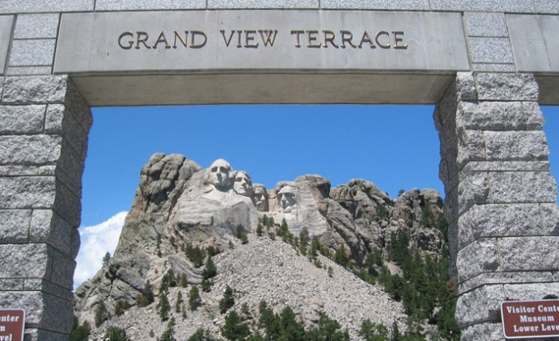 Munt Rushmore - Grand View Terrace