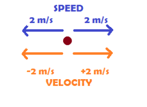 Speed & Velocity - Difference