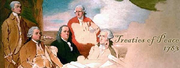 Treaties of Peace 1783 - Painting