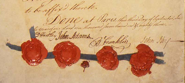 Treaty of Paris Signatures