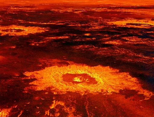 Venus Volcanoes