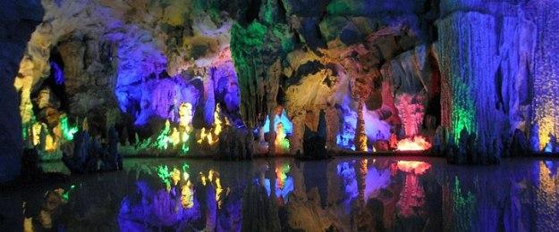 Yellow Dragon Caves, China