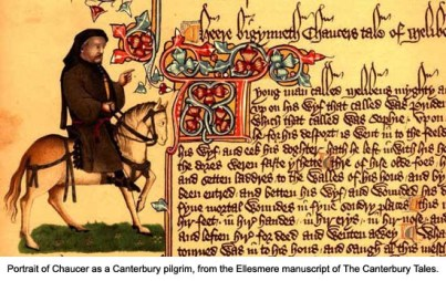 Canterbury Tales - Portrait of Chaucer