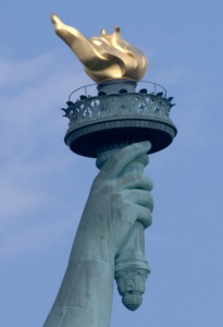 Statue of Liberty - Torche