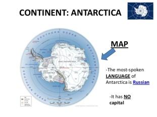 Antarctica Language