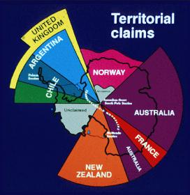 Antarctica - Territory Claims