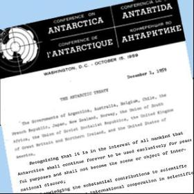 Antarctica Treaty document