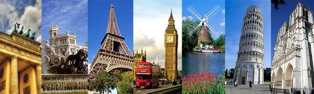 Europe Landmarks