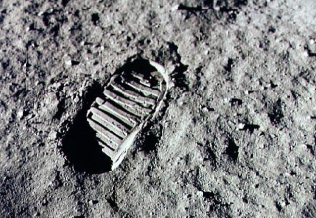 Neil Armstrong's Footprint