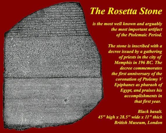 Rosetta Stone - Who wrote it