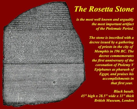 the discovery of the rosetta stone The rosetta stone was found in the port city of rosetta, which is present-day rashid, egypt, on july 15, 1799 for a good look at the artifact and more information, use the cr ystal link below it was found in some ruins near the town of rosetta (rashid) in egypt in 1799 soldiers in napoleon's army were invading egypt.