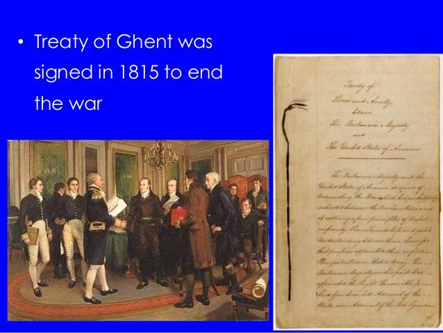 treaty of ghent summary