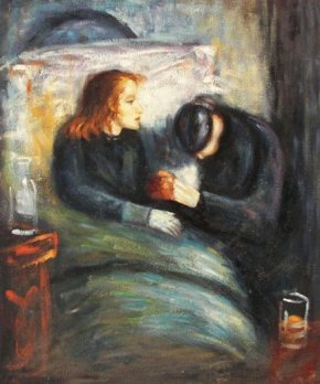 Edvard Munch - The Sick Child 1885