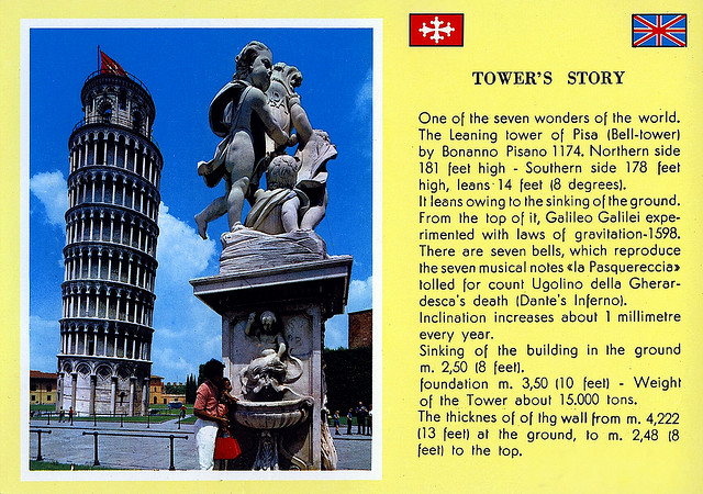 Leaning Tower of Pisa Story
