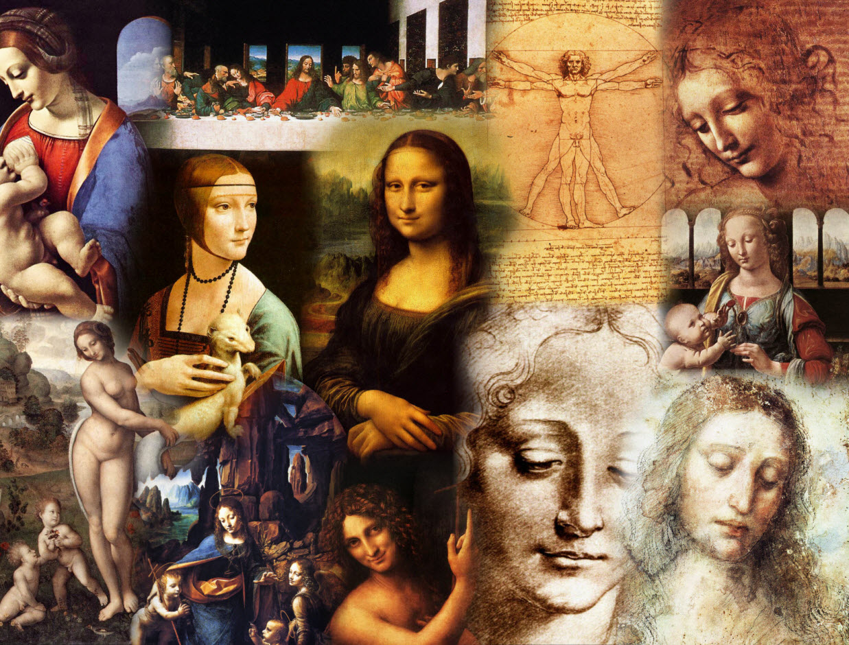 the influences of verrocchio and the styles and characteristics of leonardo da vinci in annunciation Relationships and influences the successful artists of the next generation were leonardo's teacher verrocchio daniel arasse in leonardo da vinci discusses.