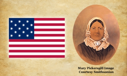 Mary Pickersgill and the Flag