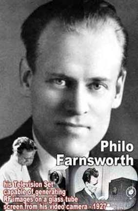 Philo Farnsworth -  Invention of television