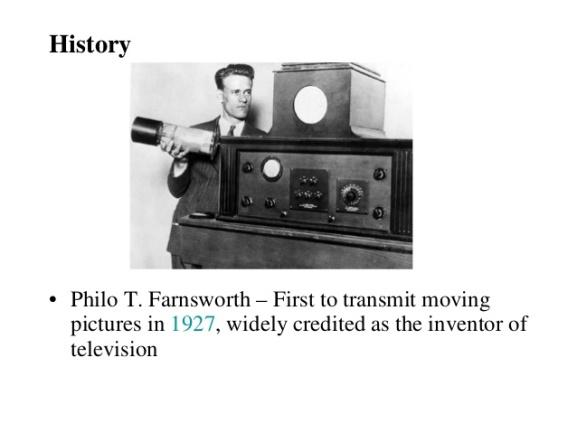 Philo Farnsworth Inventor