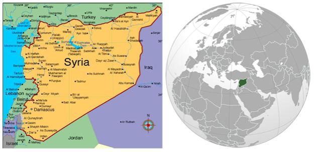 Syria-Globe
