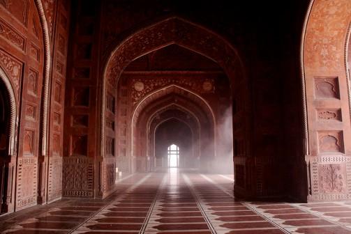 Taj Mahal - Inside Hall